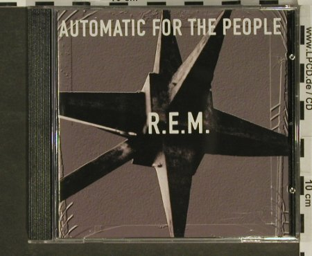 R.E.M.: Automatic For The People, WB(), D, 1992 - CD - 96937 - 10,00 Euro