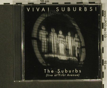Suburbs: Viva!Suburbs!-Live at First Avenue, TwinTone Records(TTR 89288-2), US, 1994 - CD - 97288 - 7,50 Euro