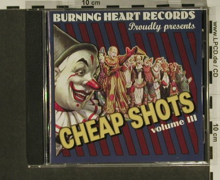 V.A.Cheap Shots Vol.3: Millencolin...Within Reach, 23 Tr., Burning Heart(), S, 1998 - CD - 97328 - 5,00 Euro