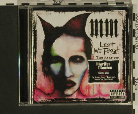 Manson,Marylin: Lest We Forget-The Best Of, Interscope(), EU, 2004 - CD - 97542 - 10,00 Euro