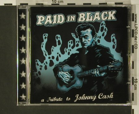 V.A.Paid in Black: A Tribute to Cash,Johnny, FS-New, Wolverine(WRR 136), , 2007 - CD - 97623 - 7,50 Euro