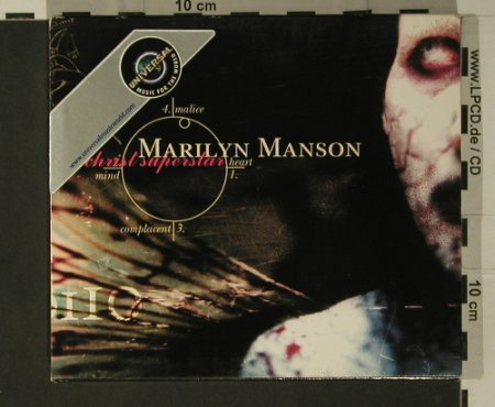 Manson,Marilyn: Antichrist Superstar, MCA(490 086-2), EEC, 1996 - CD - 97828 - 10,00 Euro
