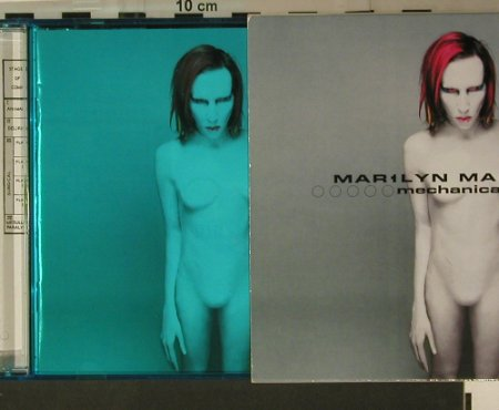 Manson,Marylin: Mechanical Animals, Interscope(490 273-2), EEC, 1998 - CD - 97830 - 10,00 Euro