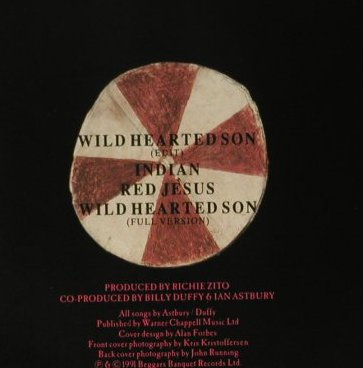 Cult: Wild Hearted Sun+3, BBQ(664 720), UK, 1991 - CD5inch - 98779 - 4,00 Euro