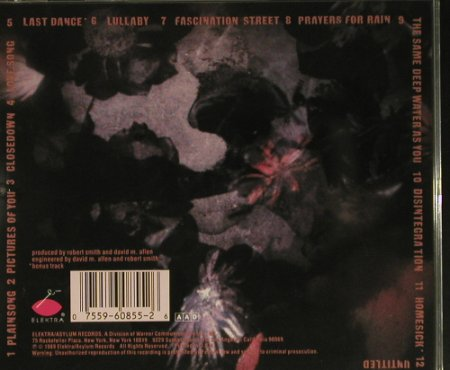 Cure: Disintigration, Elektra(9 60855-2), US, 1989 - CD - 98937 - 10,00 Euro