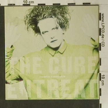 Cure: Entreat,Promo, Digi, vg+/vg+, Fiction(FIXcd17), UK, 1990 - CD - 99060 - 15,00 Euro