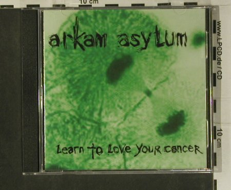 Arkam Asylum: Learn To Love Your Cancer, Wasp Factory(WASPFA008), UK, 2001 - CD - 99146 - 7,50 Euro