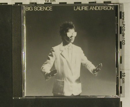 Anderson,Laurie: Big Science, WB(257 002), D, 1982 - CD - 99181 - 10,00 Euro