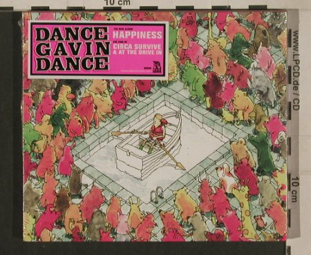 Dance Gavin Dance: Happiness, FS-New, Rise Recording(), , 2009 - CD - 99996 - 10,00 Euro
