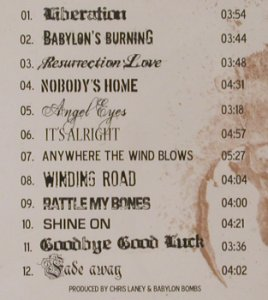 Babylon's Burning: Same, Babylon On and On Rec.(BOAO002), , 2009 - CD - 80078 - 10,00 Euro