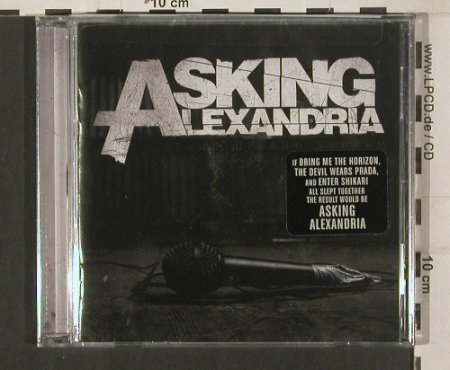 Asking Alexandria: Stand Up and Scream, Sumerian Records(), US, 2009 - CD - 80081 - 10,00 Euro