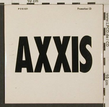 Axxis: Kingdom Of The Night,Promo 4Tr.Digi, EMI(P 518 821), , 1988 - CD5inch - 80208 - 10,00 Euro