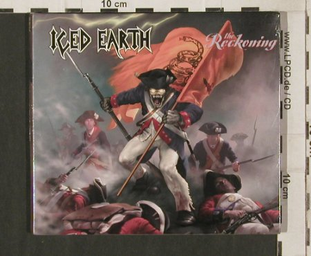 Iced Earth: The Reckoning, Digi, FS-New, Steamhammer(056-74983 CDS), D, 2003 - CD5inch - 80209 - 4,00 Euro