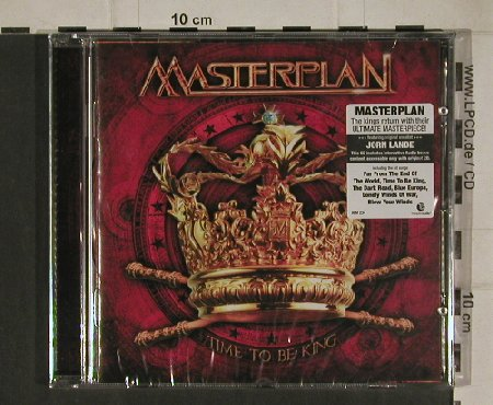 Masterplan: Time to be King, FS-New, AFM(AFM 234-2), , 2010 - CD - 80661 - 7,50 Euro