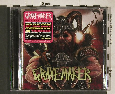 Grave Maker: Ghosts Among Men, FS-New, Victory(VR 592), US, 2010 - CD - 80840 - 5,00 Euro