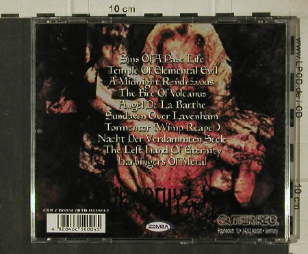 Wizzard: Songs of Sin and Decadence, Gutter Rec.(GUT CD 0004), D,  - CD - 81595 - 5,00 Euro