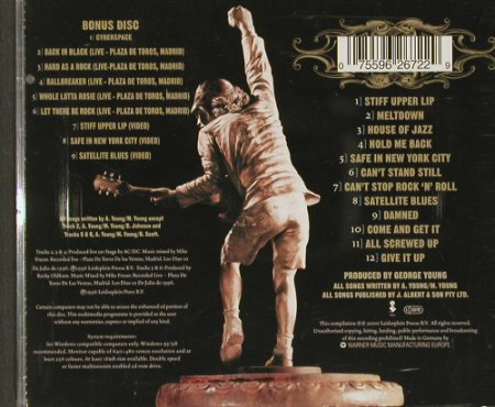 AC/DC: Stiff Upper Lip+Bonus CD, sp.Lim.Ed, Elektra(), D, 2000 - 2CD - 90052 - 12,50 Euro