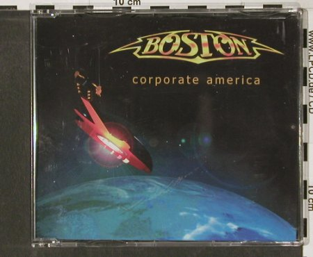 Boston: Corporate America,10Tr.Promo, Epic(), ,  - CDR - 90125 - 3,00 Euro