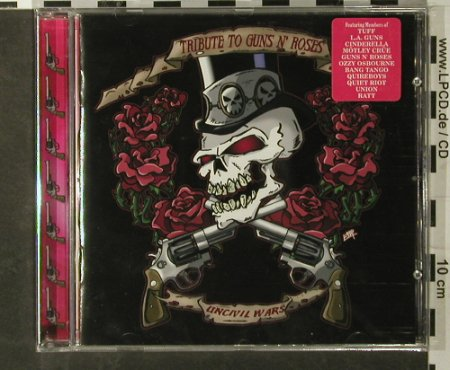 Guns n'Roses - Tribute to...: Uncivil Wars, FS-New, Mausoleum(), , 2004 - CD - 90767 - 7,50 Euro