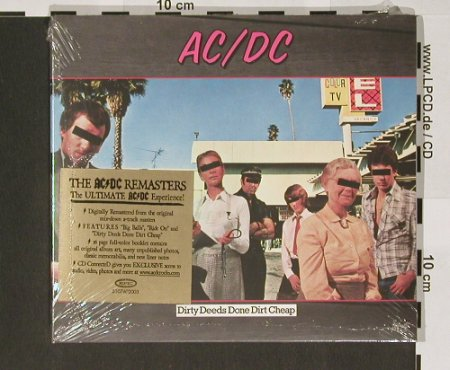 AC/DC: Dirty Deeds Done Dirt Cheap, FS-New, Epic(510760 2), D, Digi, 2003 - CD - 90768 - 10,00 Euro
