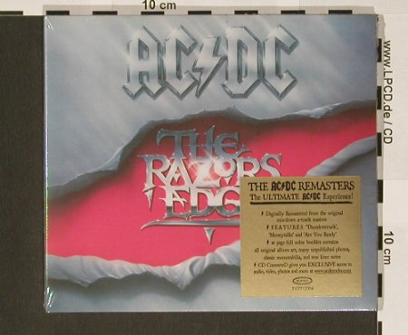 AC/DC: The Razors Edge(90),Digi, FS-New, Epic(510771 2), EU, 2003 - CD - 90771 - 10,00 Euro
