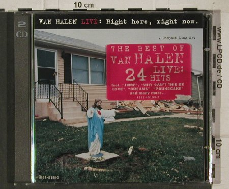 Van Halen: Live: Right Here, Right Now, WB(), D, 1993 - 2CD - 91211 - 11,50 Euro