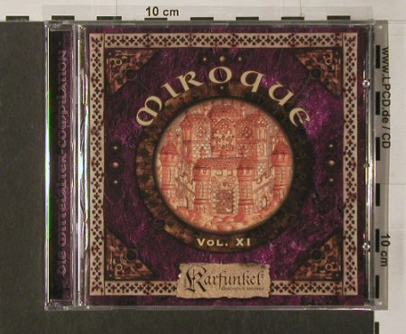 V.A.Miroque: Vol.XI, 19 Tr., FS-New, kom4Medien(TOT 23027), D, 2005 - CD - 91759 - 10,00 Euro