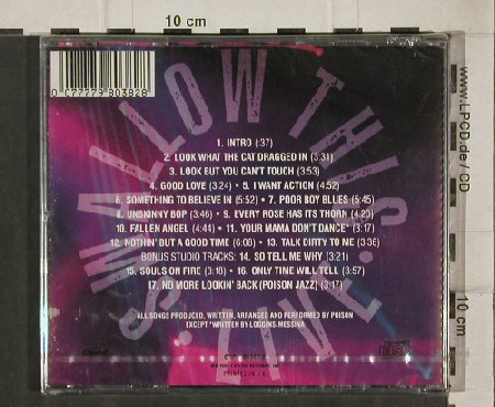 Poison: Swallow This - Live, FS-New, Capitol(CDP 7 98038 2), UK, 91 - CD - 91915 - 11,50 Euro