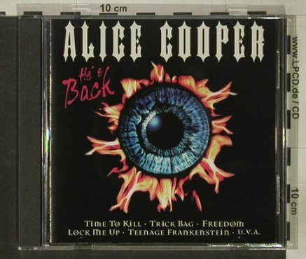 Cooper,Alice: He's Back, BMG(), EU, 1997 - CD - 92568 - 11,50 Euro