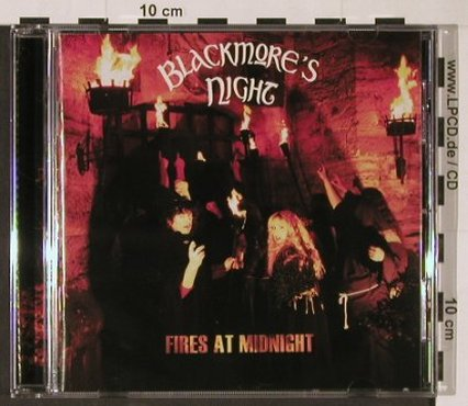 Blackmore's Night: Fires At Midnight, Steamhammer(085-72432), D, 2001 - CD - 92860 - 10,00 Euro