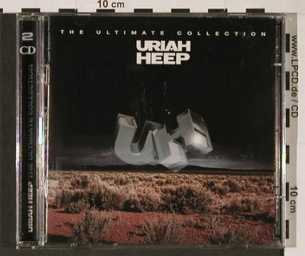 Uriah Heep: The Ultimate Collection, Sanctuary(SANDD 189), EU, 2003 - 2CD - 92861 - 11,50 Euro