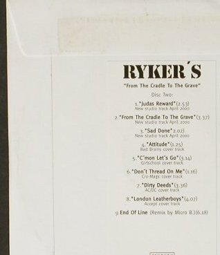 Rykers: From the cradle to the grave,Promo, Century Media(77341-2), D,no Cover, 1996 - 2CD - 93026 - 10,00 Euro