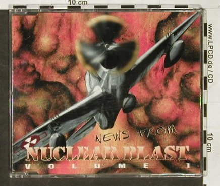 V.A.Nuclear Blast: News from, Vol.1, Promo,11Tr., Nucl.Blast(), D,  - CD - 93049 - 7,50 Euro