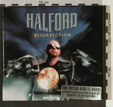 Halford: Resurrection, Box, Lim.Ed.,+Poster, Sanctuary(MISBX001), UK, 2000 - CD - 93223 - 12,50 Euro
