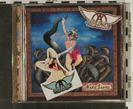 Aerosmith: Nine Lives, 14 Tr.+ Magnet Sticker, Columbia(COL 485020-5), A, 1997 - CD - 93271 - 12,50 Euro