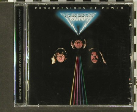 Triumph: Progressions of Power '80, FS-New, Castle(), EU, 2005 - CD - 93994 - 10,00 Euro