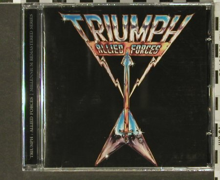 Triumph: Allied Forces '81, FS-New, Castle(), EU, 2005 - CD - 93995 - 10,00 Euro