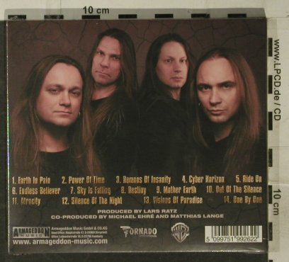 Metalium: Demons Of Insanity-ChapterFive,Digi, Armageddon Music(AMG 017-0), D FS-New,  - CD - 95228 - 10,00 Euro