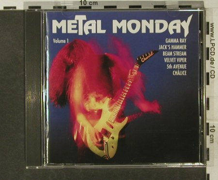 V.A.Metal Monday: Vol.1, 16 Tr., Line(MMCD 9.01244 O), D, 1992 - CD - 95237 - 7,50 Euro