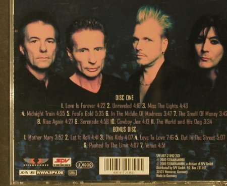 UFO: Covenant / Live USA, Lim.Ed., Steamhammer(087-21892), D, 2000 - 2CD - 95595 - 10,00 Euro