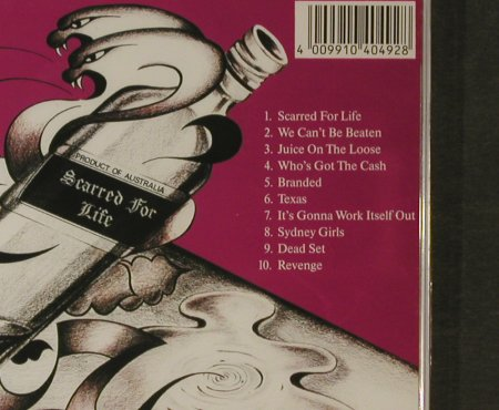 Rose Tattoo: Scarred For Life(82), FS-New, Repertoire(RR 4049-C), D, 1990 - CD - 95714 - 12,50 Euro