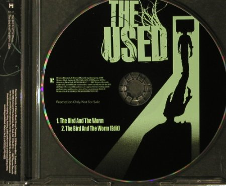 Used(the): The Bird And The Worm*2, Promo, Reprise(PRO16302), EU, 2007 - CD5inch - 96193 - 3,00 Euro