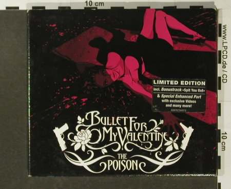 Bullet For My Valentine: The Poison, Digi, Lim.Ed., Gun Rec.(), EU, 2005 - CD - 96520 - 10,00 Euro