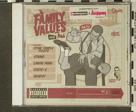 V.A.Family Values Tour 2001: 12 Tr., Elektra(), D, 2002 - CD - 96591 - 4,00 Euro