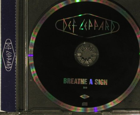Def Leppard: Breathe A Sigh (3:50),RadioCD!, Mercury(LEPDJ 19), UK, 1996 - CD5inch - 96796 - 7,50 Euro