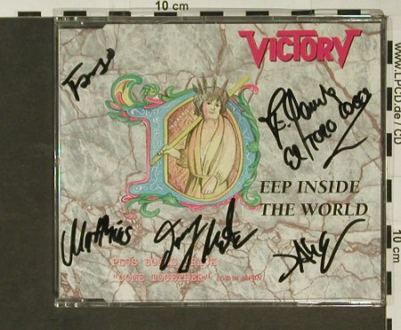 Victory: Deep Inside the World+1, 5*signiert, Event Record(SPV055-60093), D, 1990 - CD5inch - 96800 - 20,00 Euro
