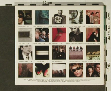 Bon Jovi: Crush, Promo, Digi, 13 Tr., Mercury(BJADV1), US, 2000 - CD - 96810 - 14,00 Euro