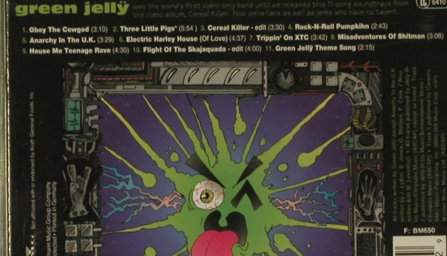 Green Jelly: Cereal Killer Soundtrack, Zoo(), D, 93 - CD - 96975 - 5,00 Euro