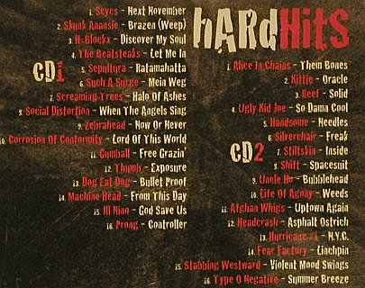 V.A.Hardhits: The Best of Alternative Rock,32 Tr., Sony(508920 2), EU, 2002 - 2CD - 97066 - 5,00 Euro