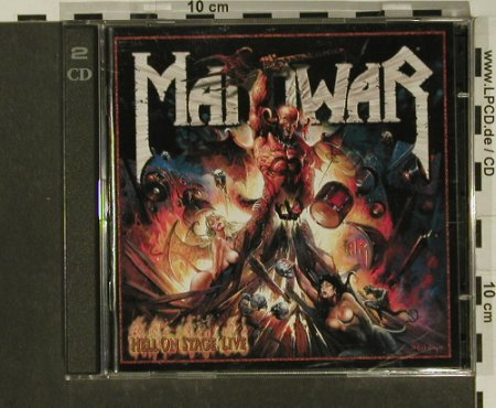 Manowar: Hell On Stage Live, Nucl.Blast(), D, 1999 - 2CD - 97266 - 10,00 Euro